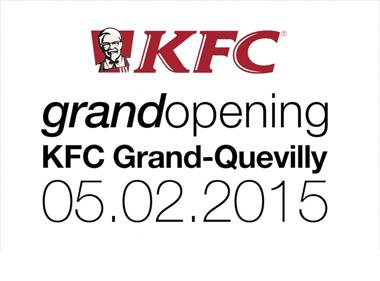 inauguration KFC