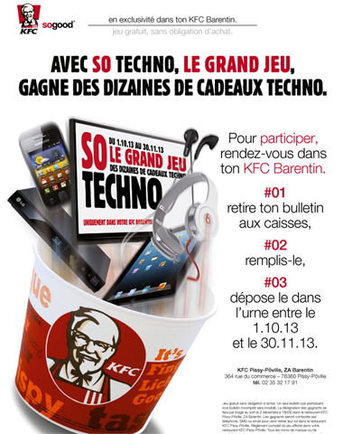 KFC So Techno