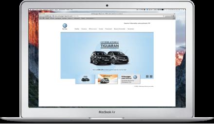 web partenaire Volkswagen