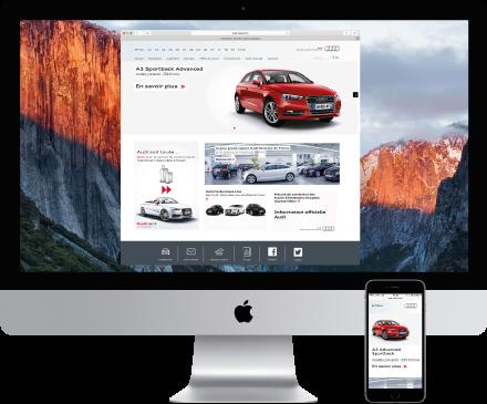 web partenaire Audi