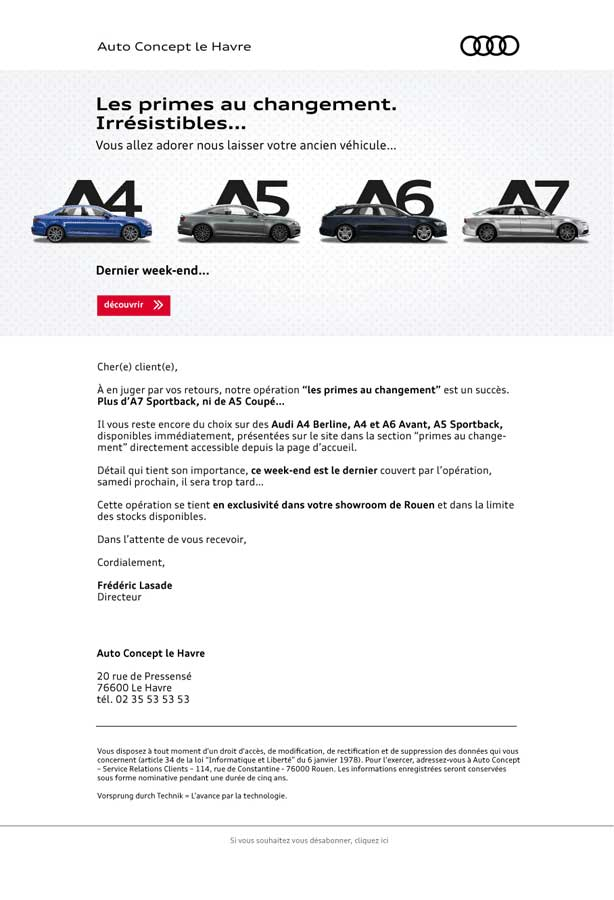 creation-emailing-audi-responsive