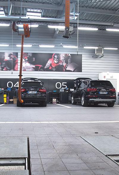 panorama SAV Audi Rouen